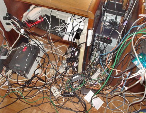 Organize your space to be more productive super user blog - How to organize cables on desk ...